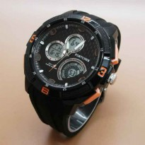 FORTUNER DOUBLE TIME ANTI AIR BLACK ORANGE