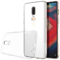 Nillkin Nature TPU Soft Case OnePlus 6 - Grey