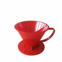 SUJI - Pourover Dripper 02 Red Solid