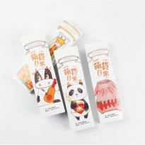 Cute Pets Paper Bookmark Set