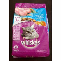 Makanan Kucing Whiskas Ocean Fish  1.2 kg (1 Years +)