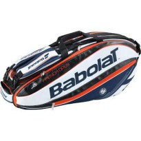 Babolat Pure X-6 Roland Garros-FO White-Blue-Red-Black