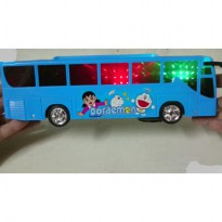 Mainan Bus Doremon Cahaya 3D Sound 3858A-2