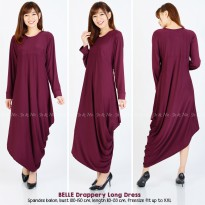Belle Drappery Long Dress