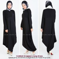 Camille Drappery Long Dress