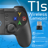 GameSir T1S Bluetooth 4.0 Wired Wireless Gamepad