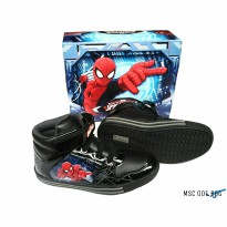 Disney boots spiderman msc001 hitam size 28 sd 33