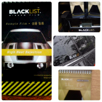 Blacklist Kaca Film Blackuroi - Medium Size Car - Gratis Pemasangan Di tempat