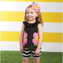 Mudpie Flower Short Set #1112133