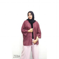 Amber Kimono Outer by ZEB-Burgundy