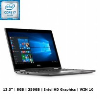 Dell Inspiron 13 5368 Laptop 2in1 - Grey [13 Inch/i7/6500U/8GB/256GB/Win10]