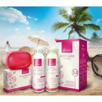 [BPOM] HANASUI BODY CARE 3IN1 / PAKET LOTION HANASUI / BPOM