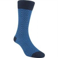 Kaos Kaki Marel Socks Life Style Men Hoover 3D Plain MC1P-16-MS049 Navy/Black