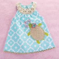 Mudpie Under The Sea Turtle Dress #1142108