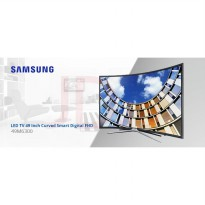 SAMSUNG UA49M6300AKPXD CURVED SMART TV 49M6300 UA49M6300 Full HD 49 Inch Garansi Resmi