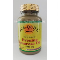 Sea Quill - Evening Primrose Oil 1000mg (30 Soft) | Kolesterol, Diabetes, PMS, Menopause
