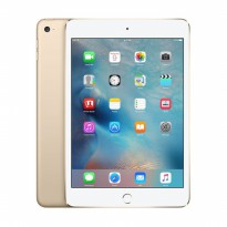 APPLE IPAD MINI 4 WIFI Dan CELLULAR 128GB GOLD GARANSI RESMI APPLE