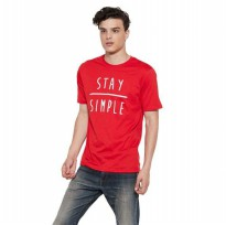 (POP UP AIA) SS Stay simple T-shirt