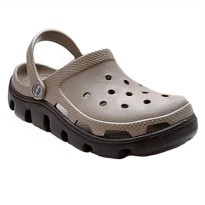 Crocs Duet Sport Clog - Kakhi/Brown