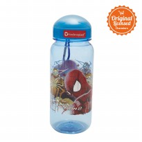 Spider-Man Round Sport Bottle 550ml Blue E