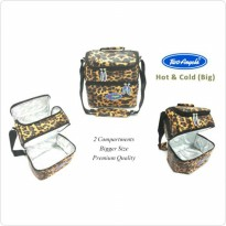 Two Angels Cooler Bag Exotix Leo Premium - Free 3 Ice Gel