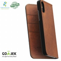 Original Nomad Horween Leather Folio Case IPhone X - Brown