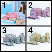 Bag in Bag 5 in 1 (5 Pcs) Tas Motif B Travel Organizer Bag