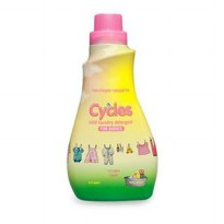 CYCLES BABY MILD LAUNDRY DETERGENT LIQUID BOTTLE 1500ml (Deterjen Bayi)