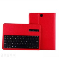 [globalbuy] Removable Wireless Bluetooth Keyboard Stand PU Leather Cover Case For Samsung /4931925