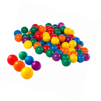 Intex 8cm Fun Balls - 100 pcs - Bola Mainan
