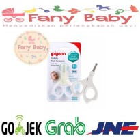 Pigeon Safety Scissors Nail 3+ / Gunting Kuku Bayi