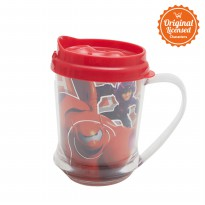Big Hero Tumbler Red With Handle 325ML A