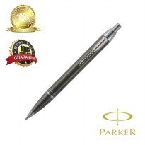 Parker I AM Deluxe Brush GUN Metal CT Ball pen Medium