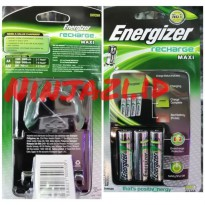 charger original energizer 4slot+ batre.. auto cut off SJ0124