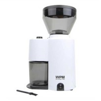 WELHOME Coffee Grinder Conical Burr with Timer ZD-10 White