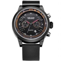 MEGIR Black Eagle Jam Tangan Analog - MN2001G