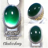 CHROME CHALCEDONY NATURAL IJO BOTOL HQ
