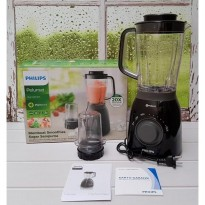 Diskon Promo PHILIPS Viva Blender Tritan Jar with Plastic Mill HR2157 HR 2157