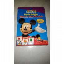 Kartu belajar warna dan bentuk Mickey mouse club house disney junior