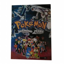 Buku Pokemon Diamond & Pearl Bahasa Indonesia