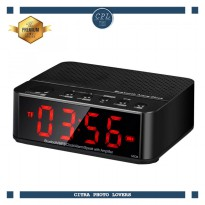 Jam Alarm Dengan Speaker Bluetooth - KD-66 - Black