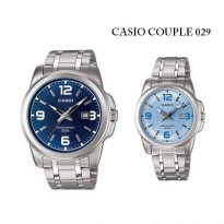 JAM TANGAN PASANGAN CASIO ORIGINAL CP029 Couple Watch