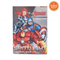 The Avengers Coloring Book L (Spotlight)