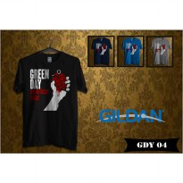 Kaos Musik Band Green Day - Kaos Original Gildan Softstyle