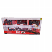 Rail King Train BO 19030-6 - Mainan Anak Kereta API Asap - Ages 3+