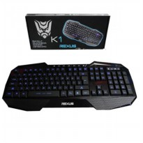 Rexus K1 Backlit Multimedia Keyboard Gaming