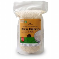 Beras Diabetes Organik 1Kg Vacum Pack Eka Farm