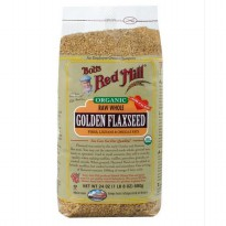 Diet Bob's Red Mill Organic Raw Whole Golden Flaxseed 680gr