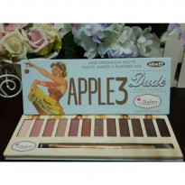 The balm apple 3 eyeshadow TERMURAH01