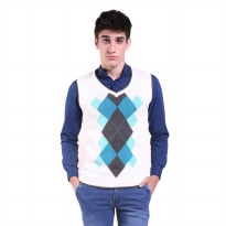 Jfashion Men's Knit Vest Rompi Rajut Pria - Glenn